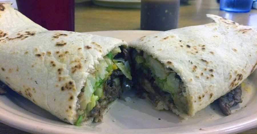 Sevi's Burritos never disappoints