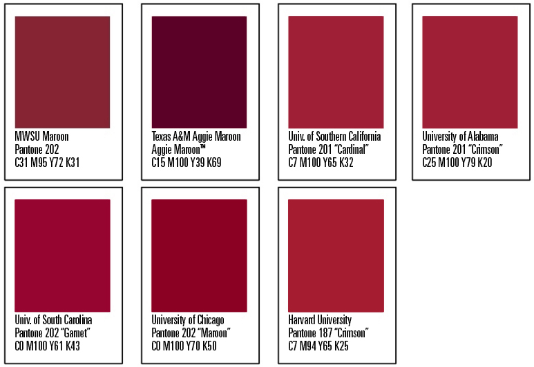 The Wichitan Maroon Its More Than Just A Color