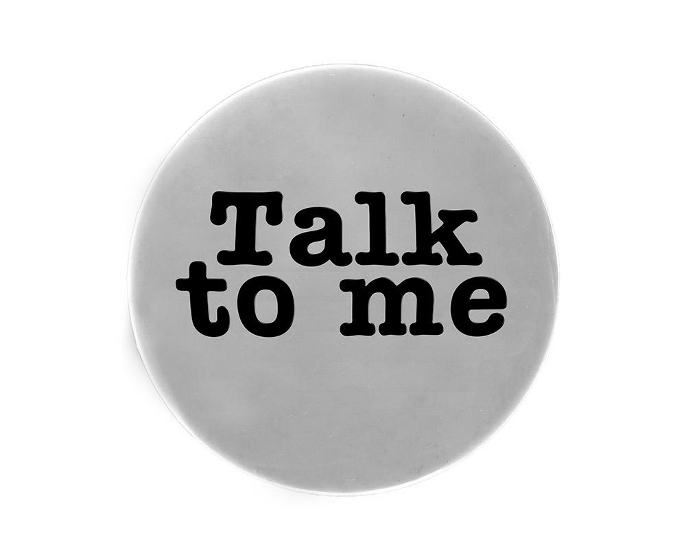 University President: Talk to me