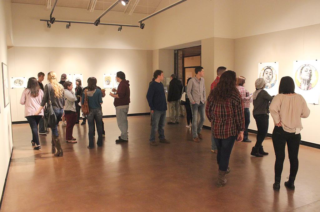 Artist's presence felt in Herrera's prints