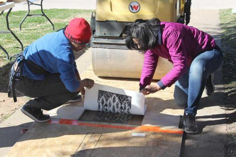 Steamroller gives local high schoolers a new perspective