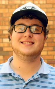 Conner Wolf, mass communication junior