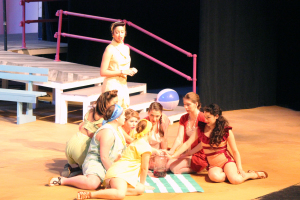 Lysistrata convinces the other women of Athens to not give into men and sex until their husbands agree to stay home and stop fighting wars. Lysistrata opens March 3 at 7:30 p.m. and closing night will be March 13 at 2:30 p.m. There will be a Meet, Greet, and Eat with the cast of Lysistrata at 5:30 p.m. March 5, held in the Fain Fine Arts Center Lobby before the 7:30 p.m. show. Photo by Rachel Johnson