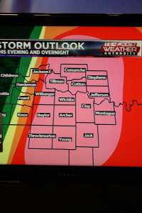 Color Coded weather model