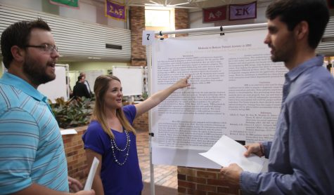Students spend months preparing for forum