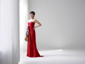 Jennifer Koh, violinist, will be performing in Akin Auditorium on Oct. 13.