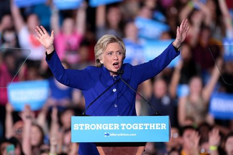 Hillary Clinton first female on major party ticket