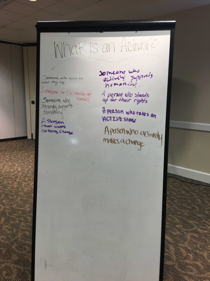 Black Student Union starts off Black History Month with 'Actor or Activist'