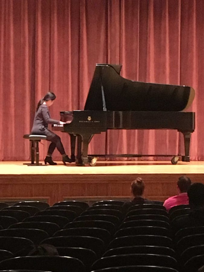 Nahye Byun playing Sonata in A Major by Franz Schubert.