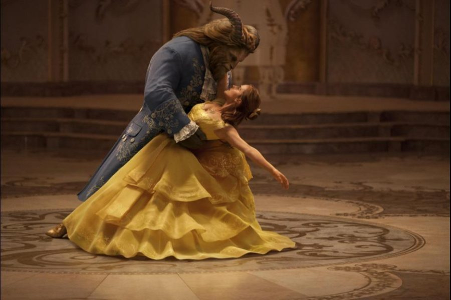 Emma Watson and Dan Stevens in Beauty and the Beast. Photo courtesy Walt Disney Motion Pictures