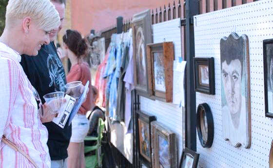 After hours art walk invites public to explore downtown