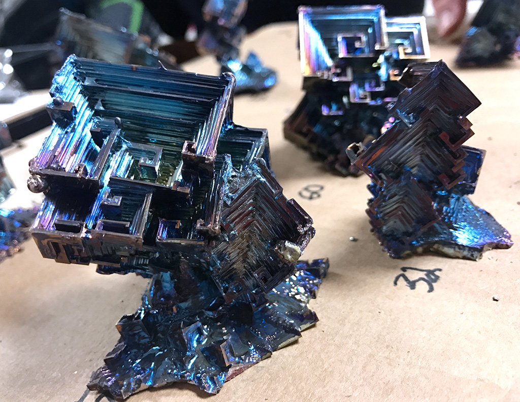 For sale: rocks, minerals and bismuth crystals – The Wichitan