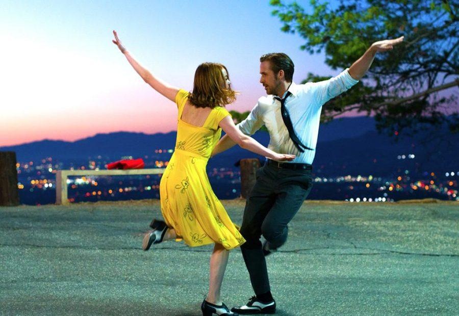 Emma Stone and Ryan Gosling in La La Land (2016). Photo courtesy of IMDB