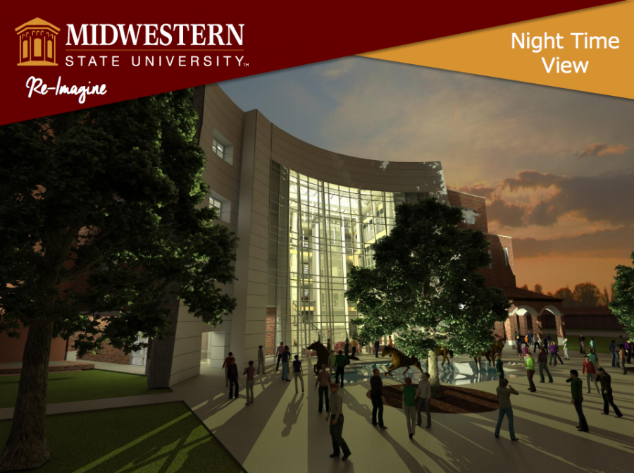 Part of the building plans for the new health sciences building to be complete by March 2019.