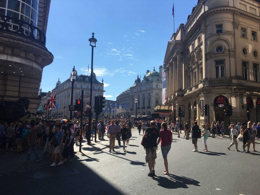 London Pride Parade in Westminster, London. Photo by Kara McIntyre
