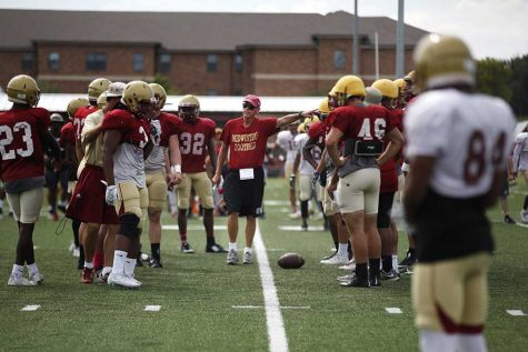 Football team 'ready and anxious' for first game of season