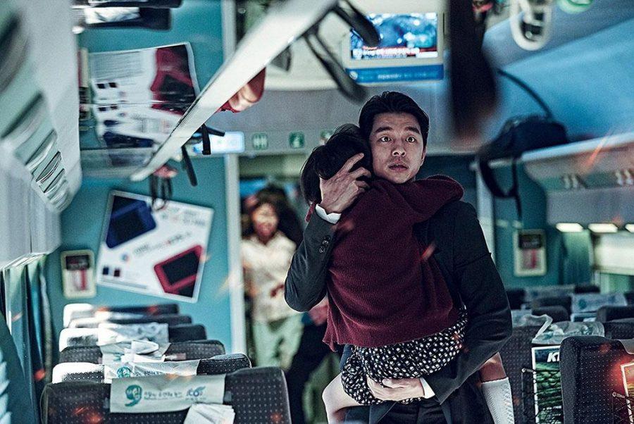 Su-an Kim and Yoo Gong in Train to Busan (2016). Photo courtesy of IMDB