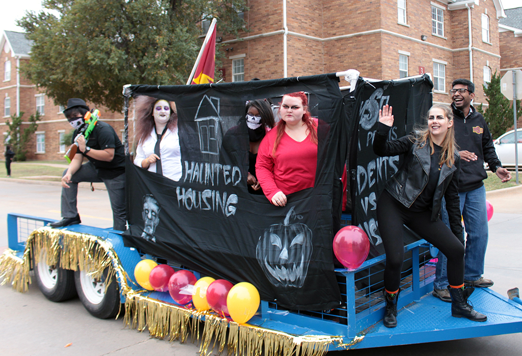 Homecoming parade to be held Friday