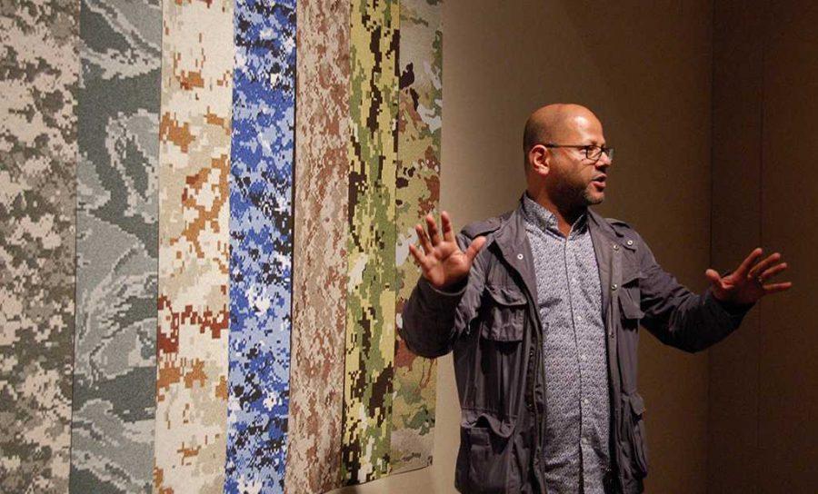 Hasan Elahi, describes each camo style in his