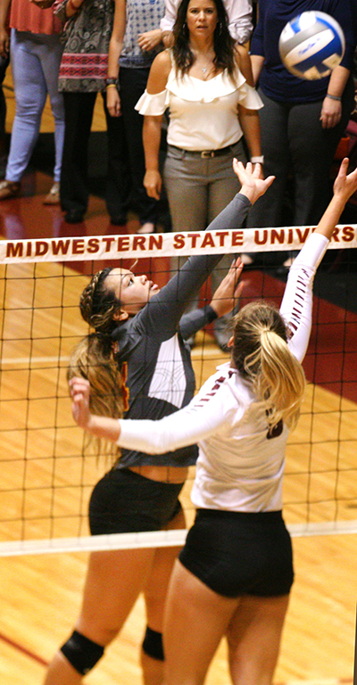 Volleyball beats Texas Women's University – The Wichitan