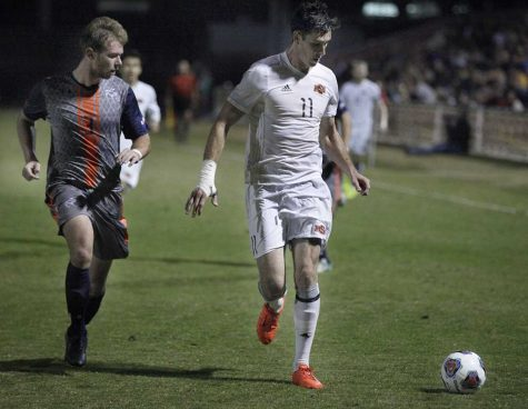 Men's soccer named regional champs, next game Nov. 18