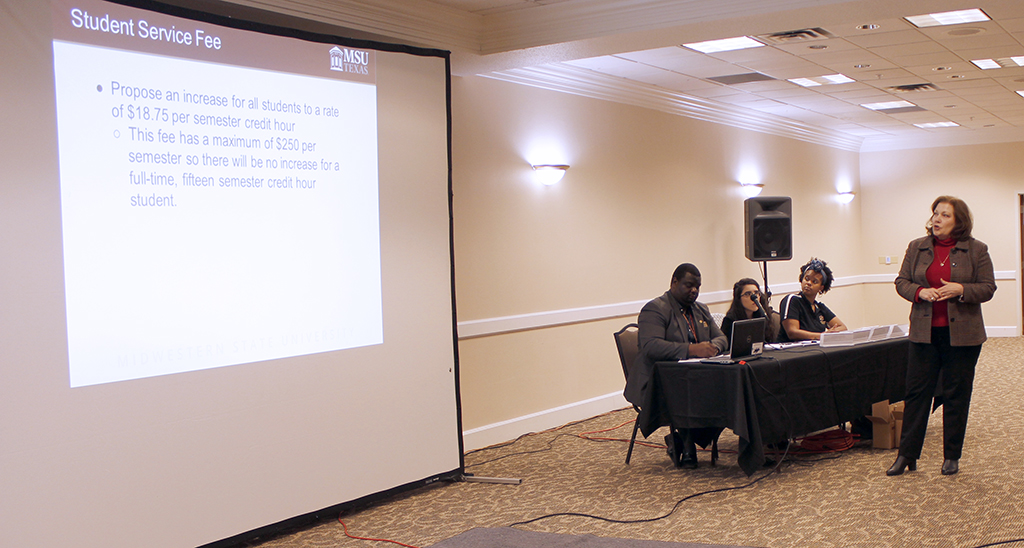 SGA meeting presents benefits of raising student tuition