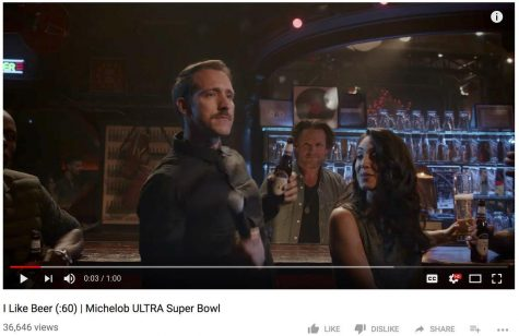 Former MWSU student featured in Super Bowl commercial