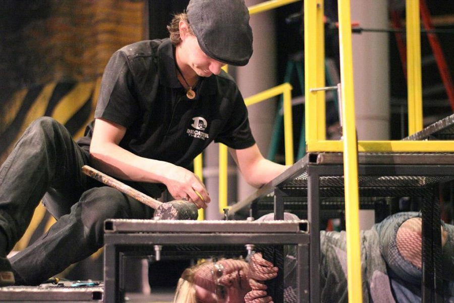 We take a look at four different sides to the same story. See what it takes to put on a musical and how a technical director, head dresser, actor, and assistant manager, have only the success of the musical in mind.