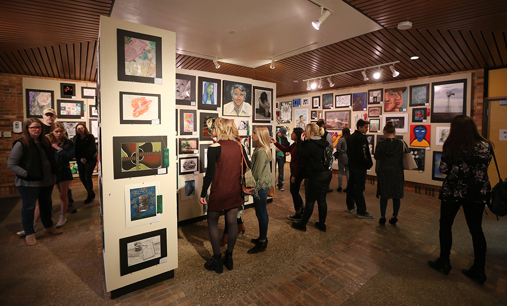 Art department hosts state-wide high school art show