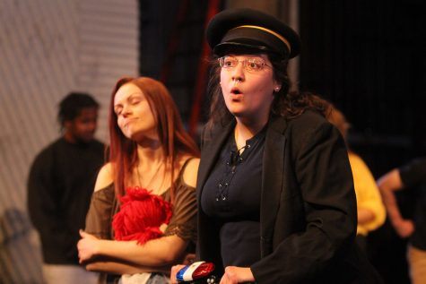 Ellanor Collins who plays Officer Lockstock in the production of
