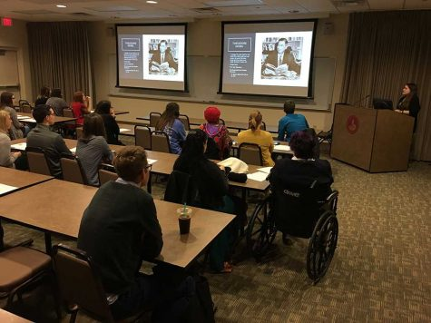 Honors students give presentations at symposium