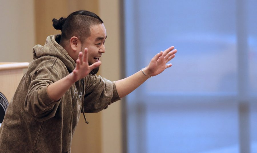 In celebrating Asian American Awareness Month the University Programming Board brings G Yamazawa, an award-winning slam poet, to Midwestern State University at Legacy Hall on Tuesday, April 10, 2018.