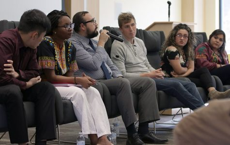 Panelists share immigration stories, discuss struggles