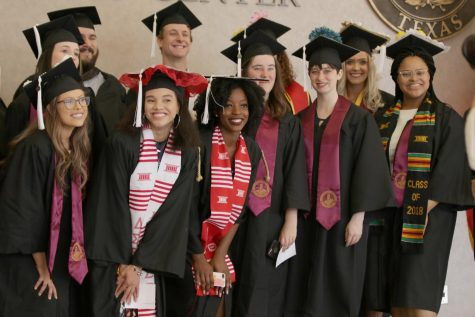 685 degrees awarded at fall graduation