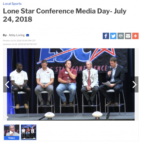 Media Day from KFDX
