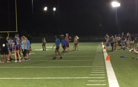 Intramural flag football begins