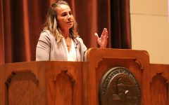 Becky Hammon opens Artist-Lecture Series