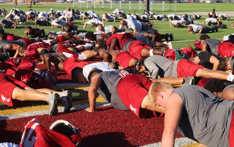 Campus honors Robert Grays with 24 push ups