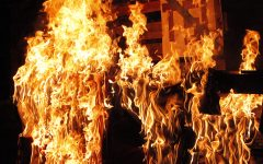 Homecoming tradition goes up in flames