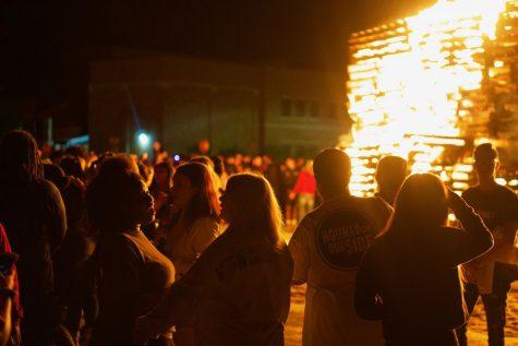 MSU bonfire