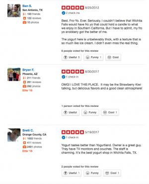 yogurt journey yelp reviews