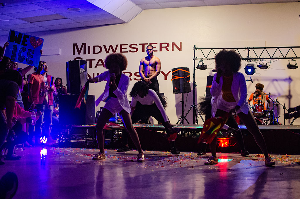 The last of the 11 performances at the Soca Show for the 21st annual Caribfest brought the crowd to their feet as the night closed out on Thursday, Oct. 4, 2018. Photo by Will Schultz