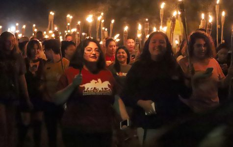 Torchlight Parade brings school spirit