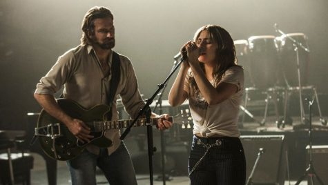 Bradley Cooper and Lady Gaga in A Star Is Born (2018). Courtesy of IMDB