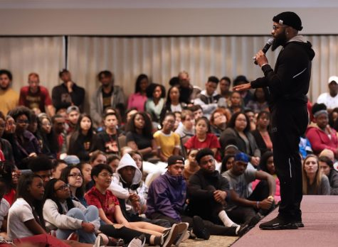 About 600 attend stand-up comedian Chico Beans' performance
