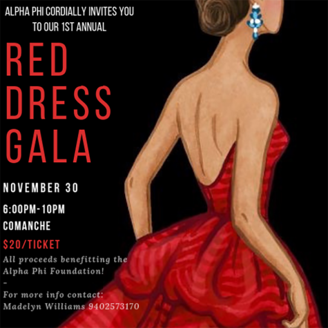 Poster for Red Dress Gala.