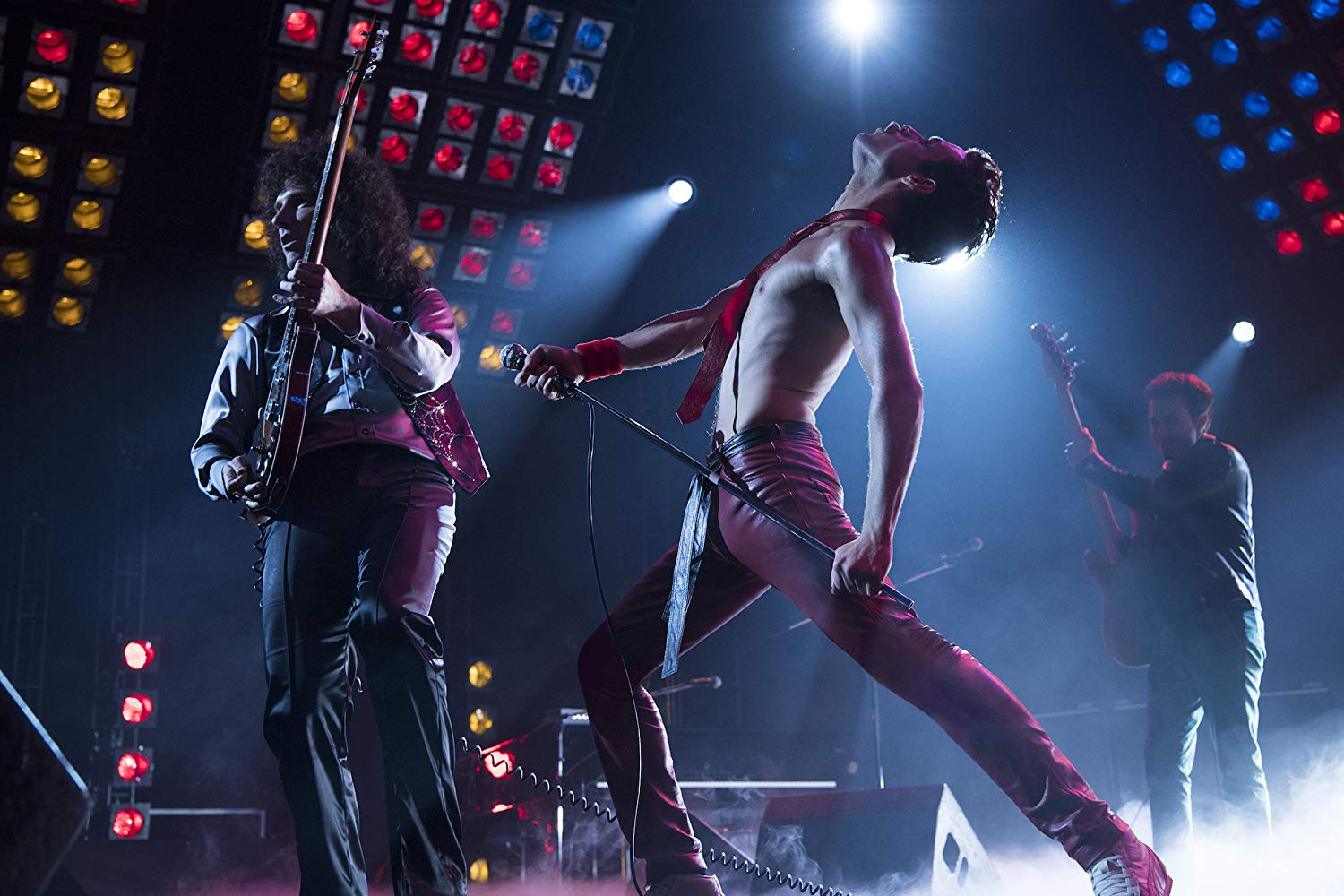 Rami Malek and Gwilym Lee in Bohemian Rhapsody (2018). Courtesy of IMDB