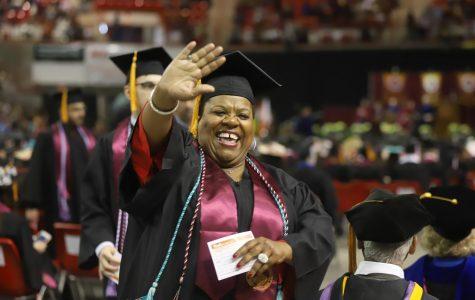 762 degrees awarded at fall graduation