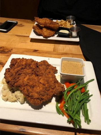 Big surprise with even bigger chicken-fried chicken