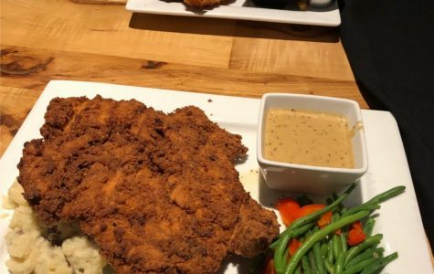 Big surprise with even bigger chicken-fried chicken